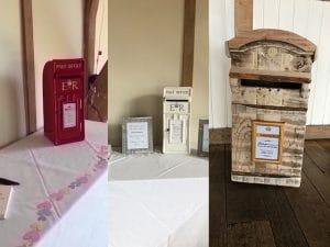 Sandburn Hall Post Boxes