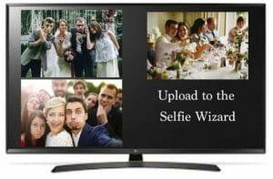 Selfie Wizard - Selfie Sharing - Selfie Wall Hire