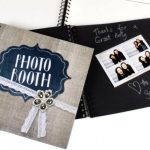 Rustic Mirror Photo Booth Guestbook