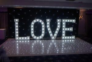 Love Letters & Starlight Dance Floor