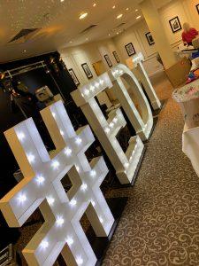 Light Up Hashtag #