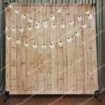 Light Wood Festoons Mirror Backdrop