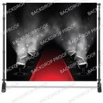 Red Carpet Lights Mirror Backdrop