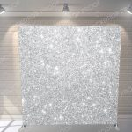 Silver Sparkle Mirror Backdrop