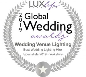 2019 Global Wedding Awards - Best Wedding Lighting Specialists 2019 - Yorkshire