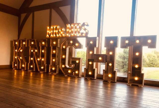 Light Up Rustic Surnames