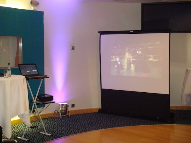 Projector & Screen Hire
