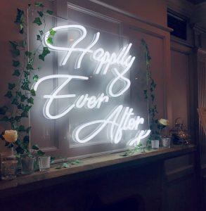 Wedding Neon Signs Hire