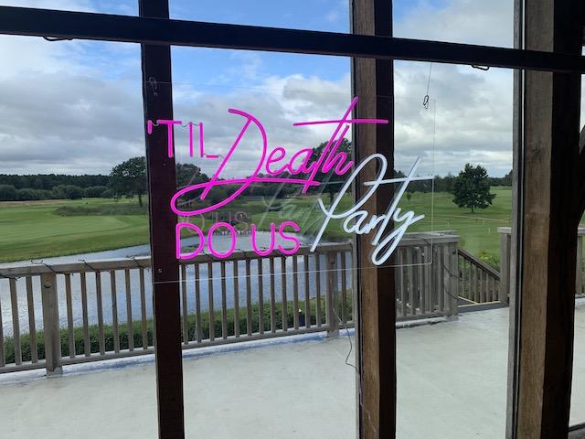 Neon Til Death Do Us Party