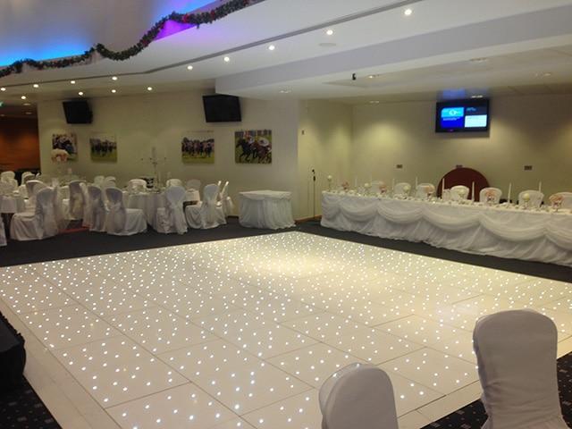White Starlight Dance Floors
