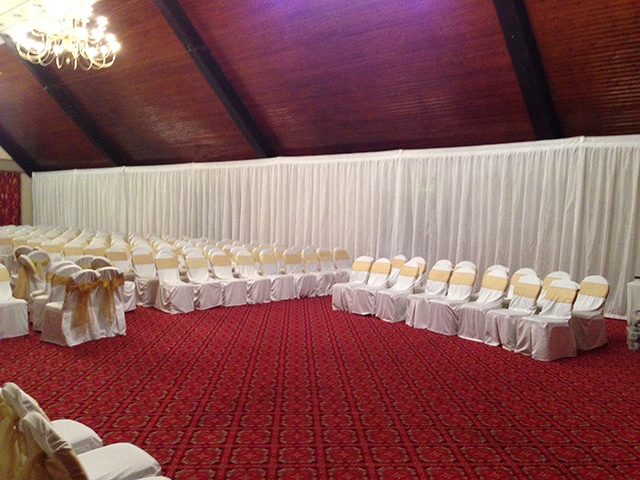 Venue Draping Hire