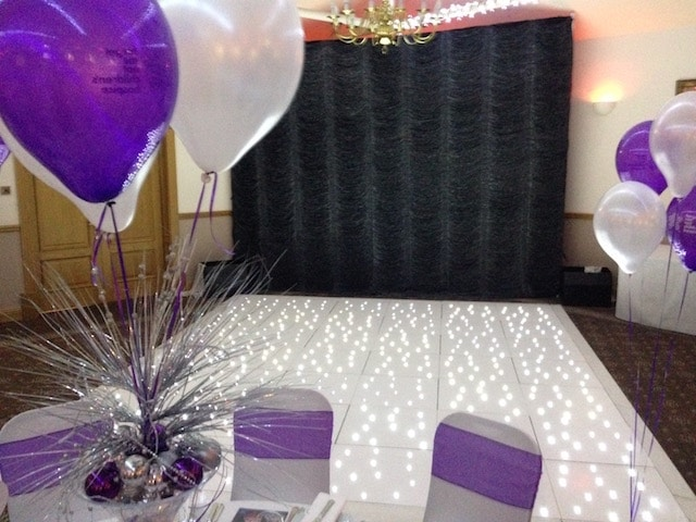 Crystal Backdrop Hire