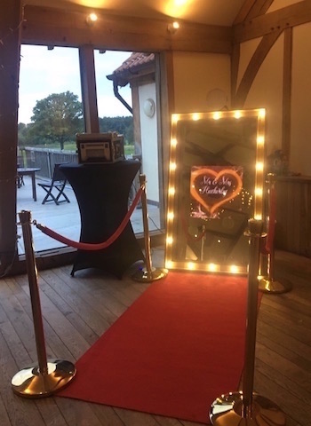 Rustic Mirror Photo Booth