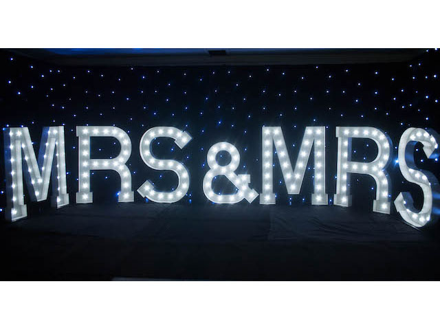 Light Up Mrs & Mrs