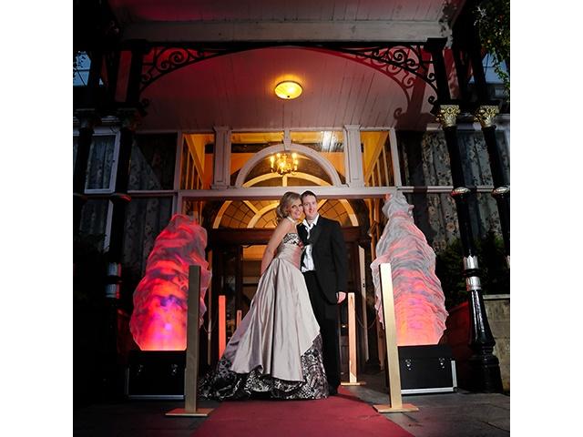 Hollywood Wedding Decor Lighting Hire
